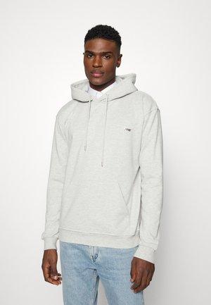 BOX LOGO HOODIE - Sweatshirt - grey melange