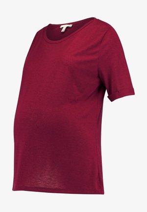 T-shirt basic - plum red