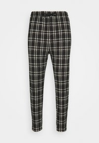 Denim Project - PANTS CROPPED - Trousers - black - 4