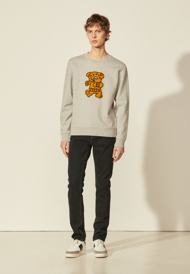 TEDDY - Sweatshirt - gris chiné
