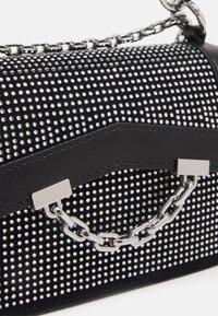 KARL LAGERFELD - SEVEN SPARKLE MINI - Handbag - black - 4