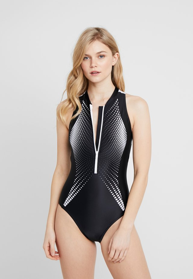 CUMA ZIP SUIT - Costume da bagno - multi/black
