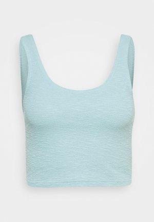Topper - dusty blue