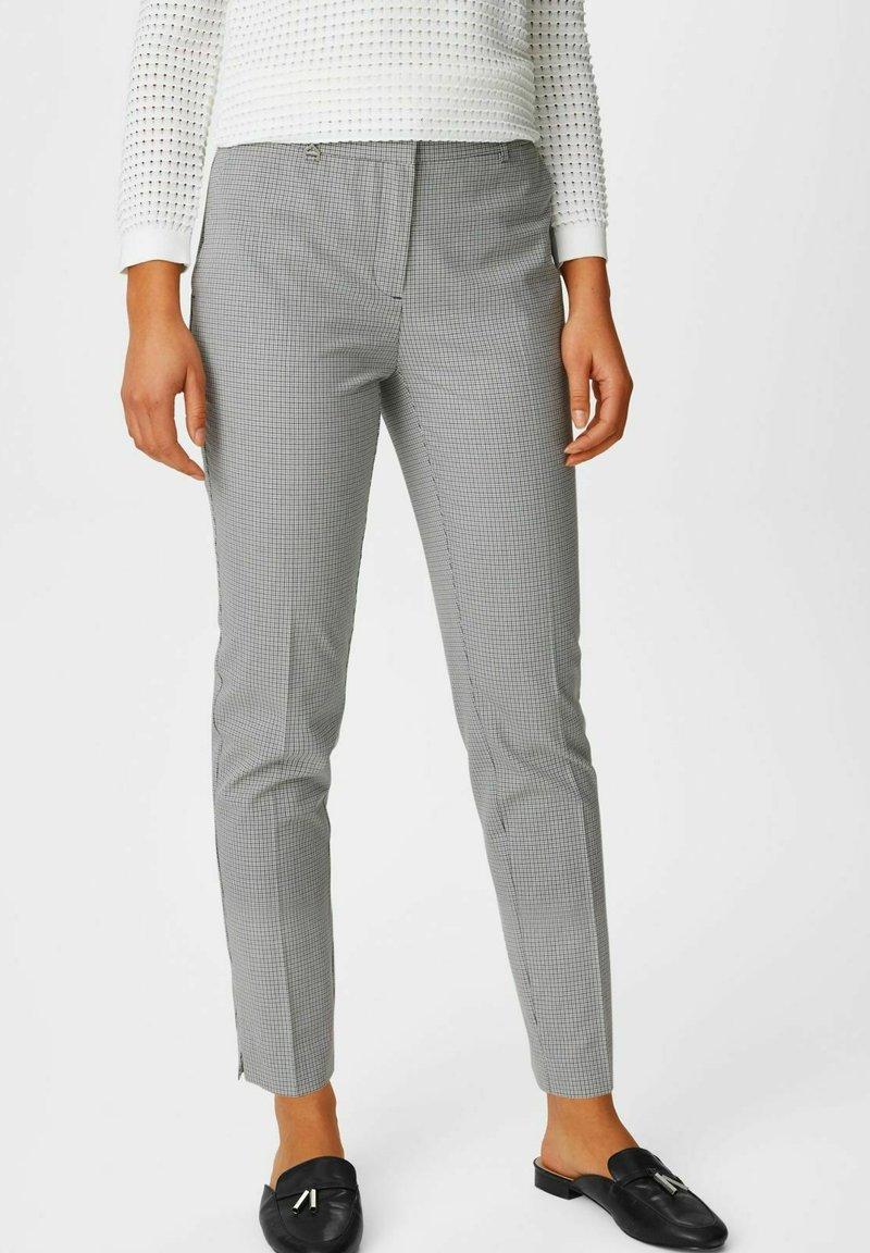 C&A Premium - Trousers - grey
