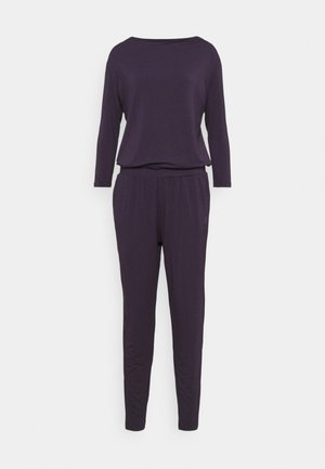 JUMPSUIT WATERFALL - Trainingspak - dark aubergine