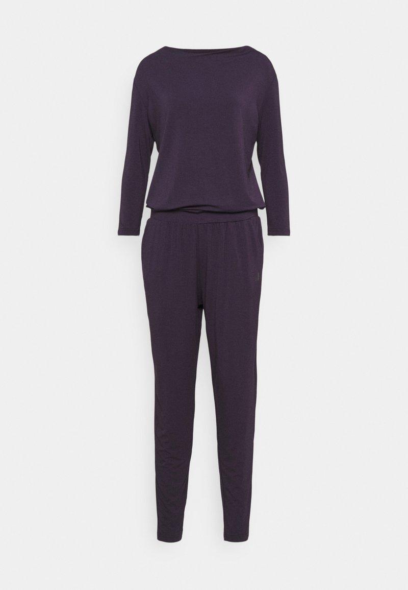 Curare Yogawear - JUMPSUIT WATERFALL - Trainingspak - dark aubergine