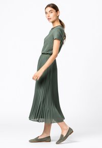 HALLHUBER - Pleated skirt - seegrün - 1