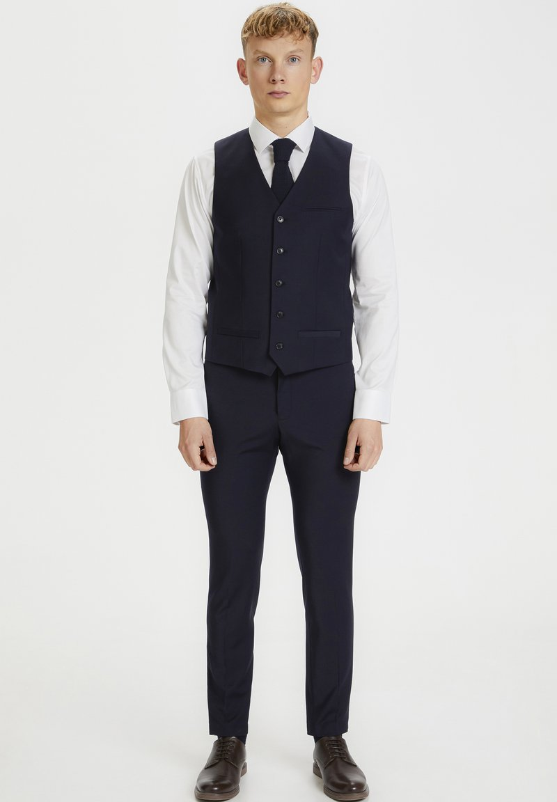 Matinique - BRECK STRETCH - Suit waistcoat - navy blazer