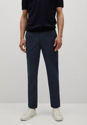 CANNES - Suit trousers - dunkles marineblau
