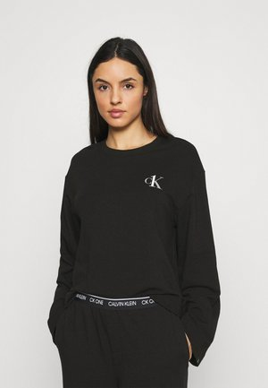 CREW NECK - Pyjamas - black