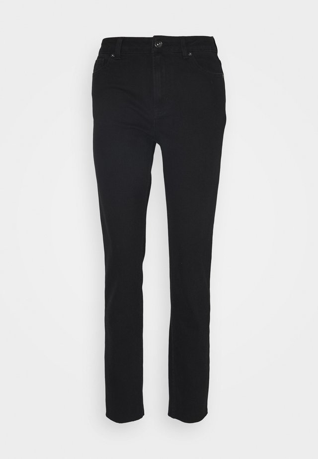 ONLEMILY LIFE  - Džíny Straight Fit - black denim