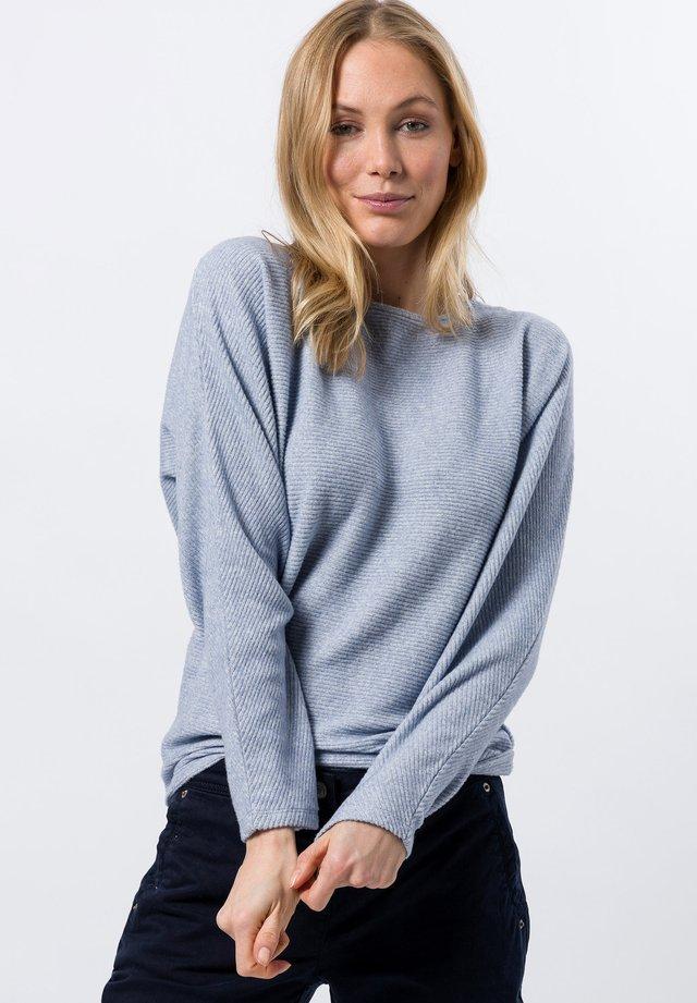 Sweater - fresh blue melange