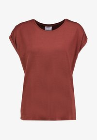 Vero Moda - VMAVA PLAIN - T-shirt basic - sable - 4