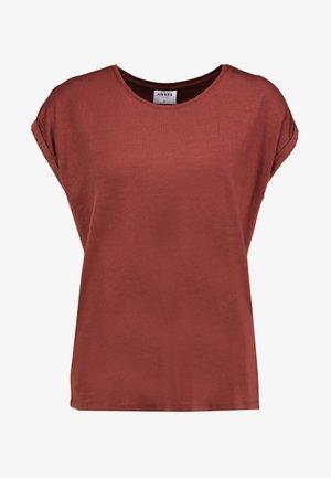 VMAVA PLAIN - Basic T-shirt - sable