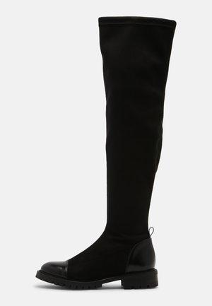 PARIS VEGAN - Over-the-knee boots - black