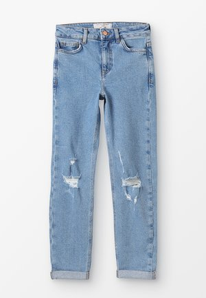 MOM COMFORT STRETCH - Relaxed fit jeans - light blue
