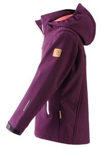 Reima - VANDRA UNISEX - Soft shell jacket - deep purple - 3