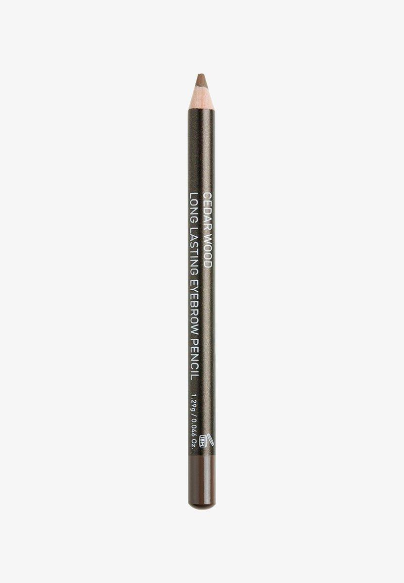 Korres - CEDAR AUGENBRAUENSTIFT - Eyebrow pencil - dark shade 1