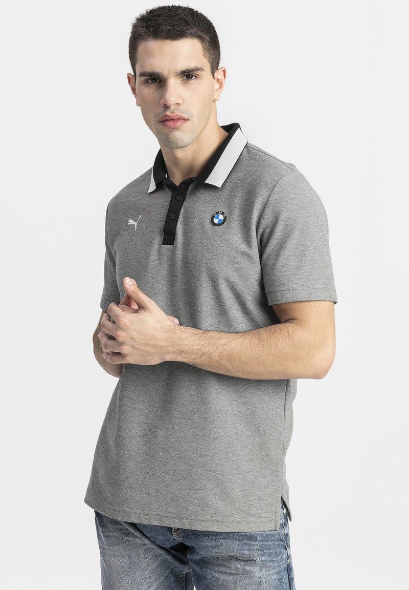 Puma - BMW M MOTORSPORT - Polo shirt - medium gray heather
