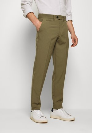 CLUB PANTS - Trousers - light army