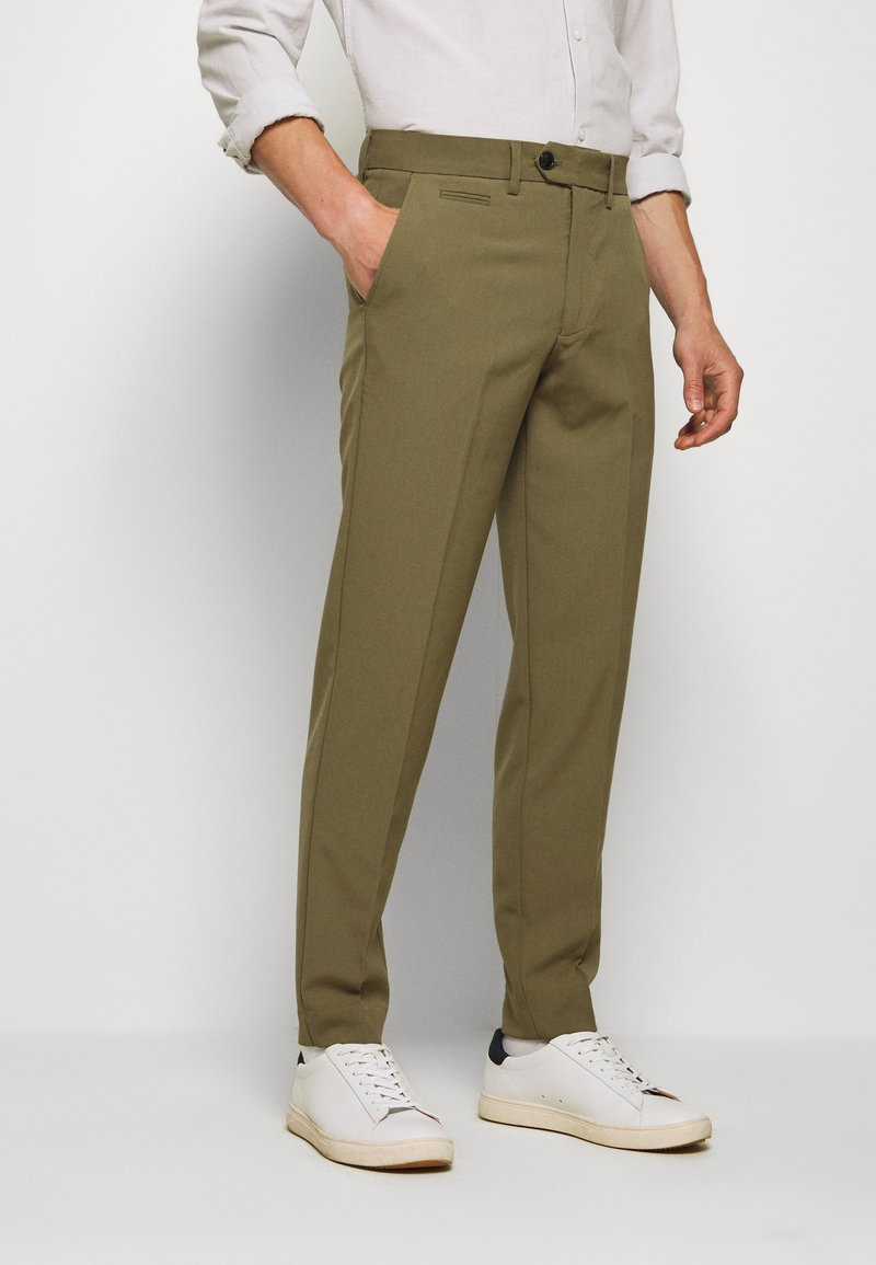 Lindbergh - CLUB PANTS - Pantaloni - light army