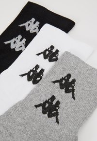 Kappa - 6 PACK - Chaussettes - high rise melange - 3