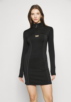 DRESS - Žerzejové šaty - black