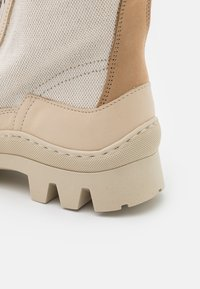 MAX&Co. - OTAY - Lace-up ankle boots - beige - 4