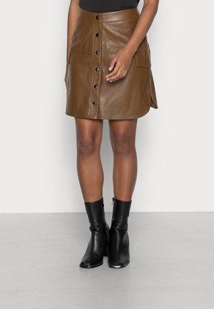 VMLOVING ABOVE KNEE - A-line skirt - emperador