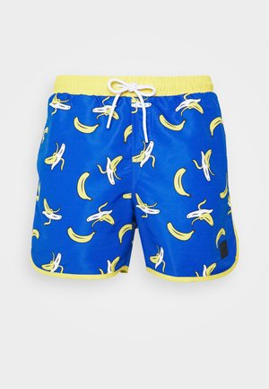 PATTERN RETRO SWIM - Badeshorts - blue