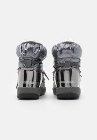 Moon Boot - JR GIRL LOW PREMIUM WP - Botines con cordones - metal gun - 2