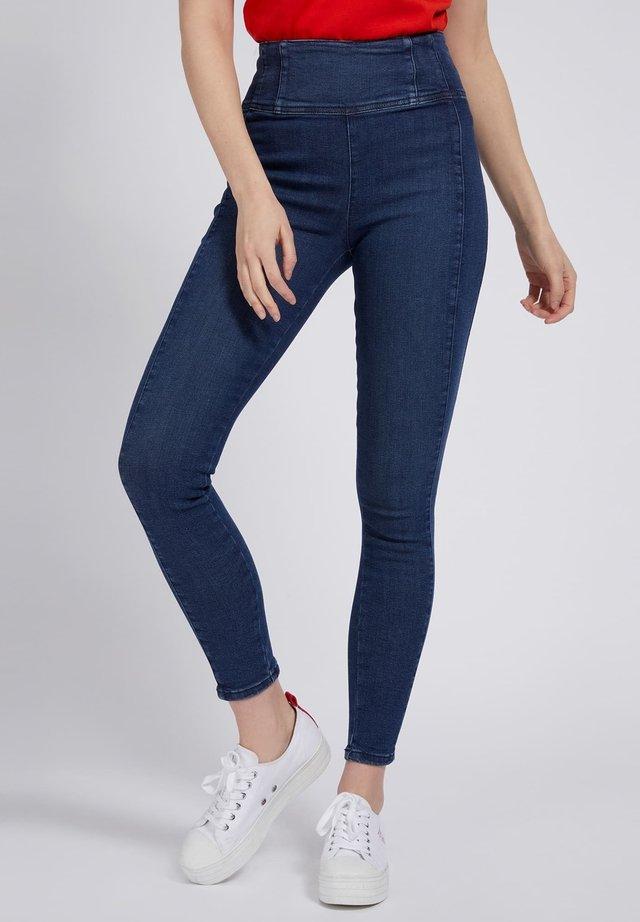 Jeansy Skinny Fit - blau