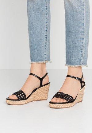 LOBI - High heeled sandals - black