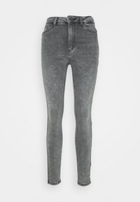 NMCALLIE CHIC - Vaqueros pitillo - medium grey denim