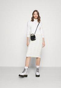Fashion Union - AVERY SKIRT - Pencil skirt - cream - 1