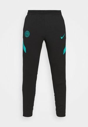INTER MAILAND PANT - Leggings - black/turbo green