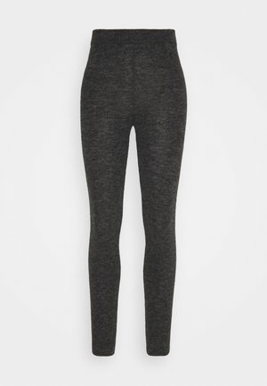 Pyjama bottoms - dark grey melange