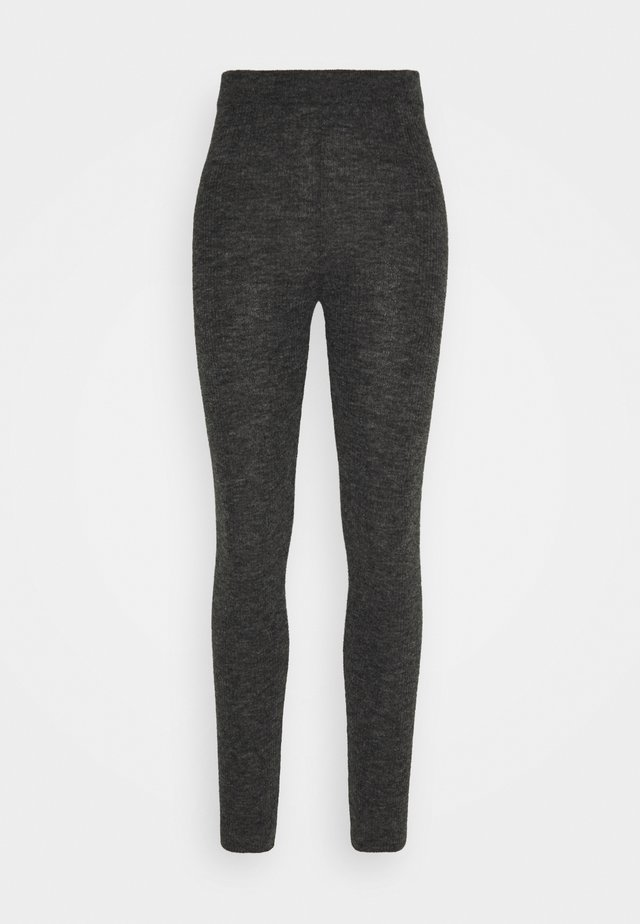 Pyjamabroek - dark grey melange