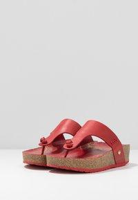 Panama Jack - QUINOA NACAR - Sandály s odděleným palcem - rot - 4