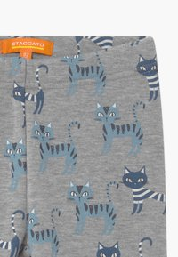 Staccato - THERMO KID 2 PACK - Leggings - Trousers - grey/dark blue - 3