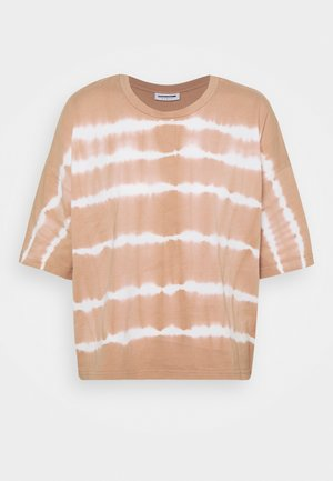 NMBUSTER TIE DYE - Camiseta estampada - praline