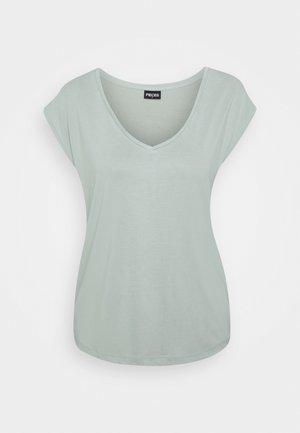 PCKAMALA TEE NOOS BC - Basic T-shirt - jadeite