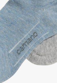 camano - SNEAKER JUNIOR 6 PACK - Socks - stone melange - 3