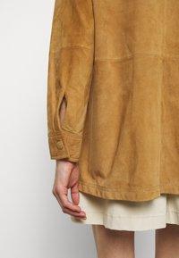 Alberta Ferretti - Button-down blouse - beige - 6