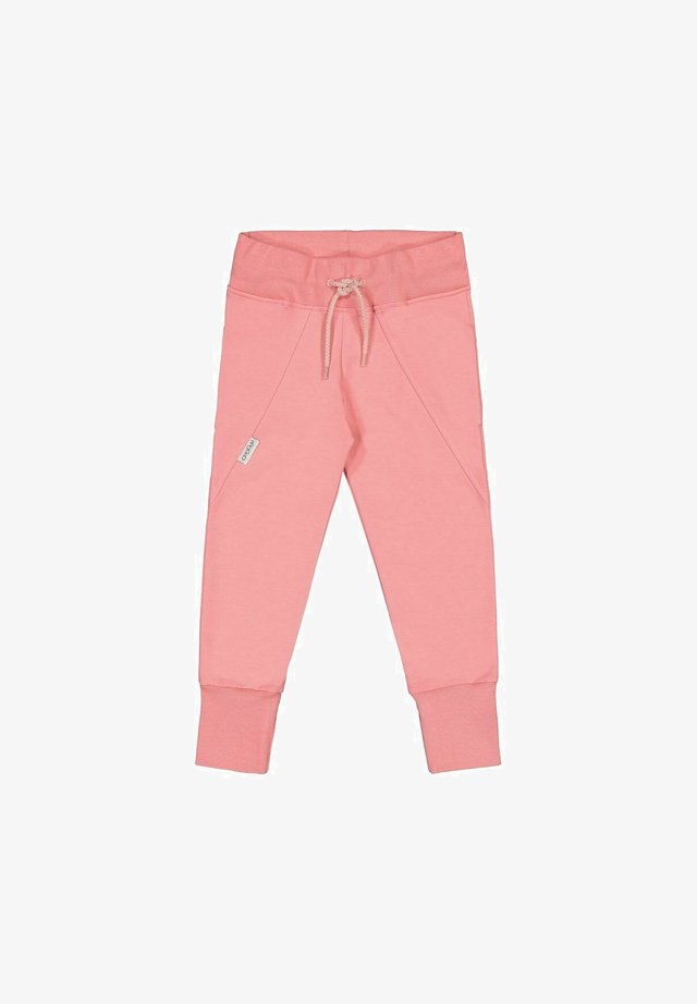 Tracksuit bottoms - coral