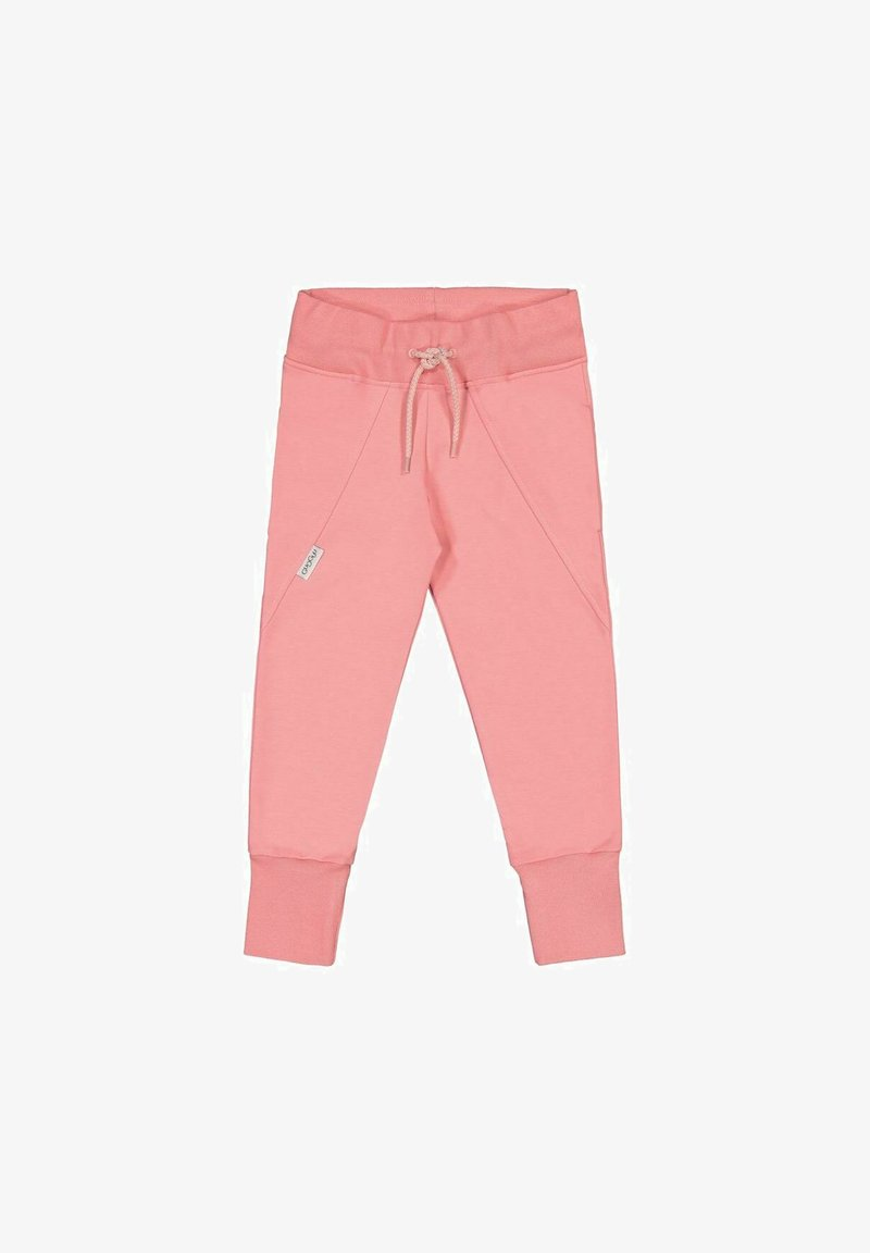GUGGUU - Tracksuit bottoms - coral