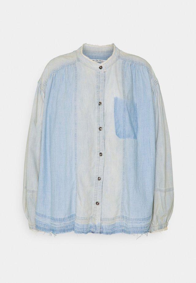 SET SAIL - Bluser - indigo blue
