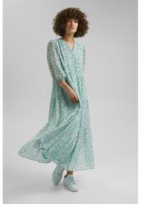 Esprit - Maxi dress - turquoise - 0