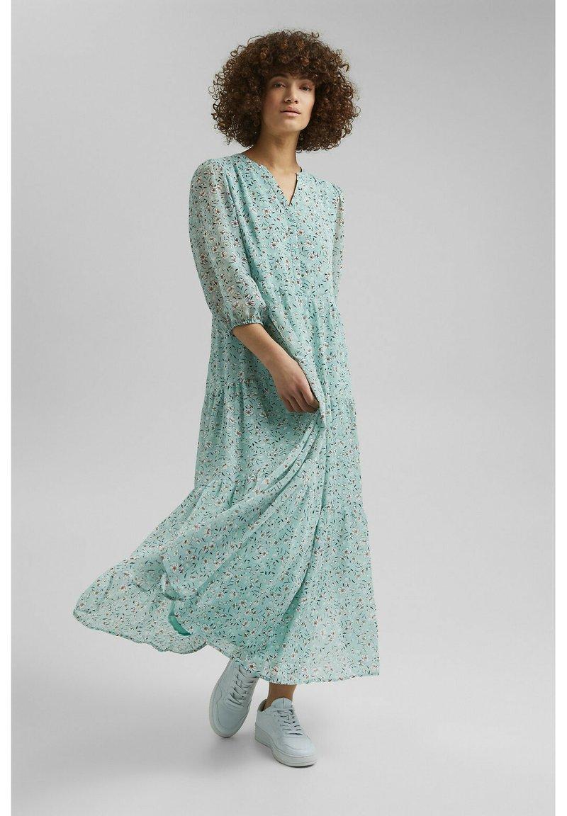 Esprit - Maxi dress - turquoise