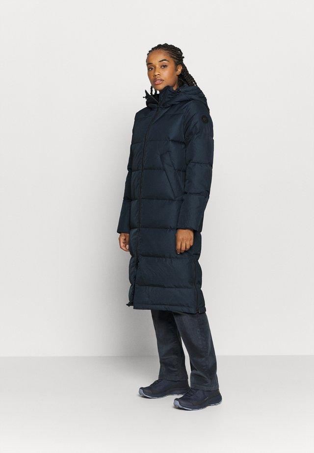 BIELLA COAT - Abrigo de plumas - navy